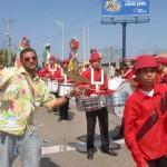 Parade crashers